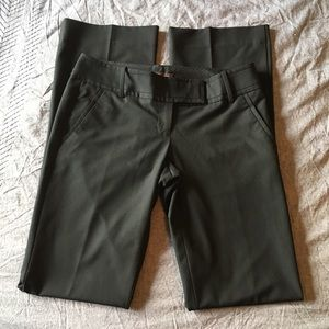 The Limited Drew Fit Black Work Pants Size 4 Long
